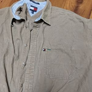 Tommy Hilfiger button up corduroy